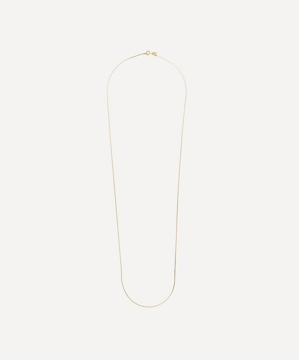 Rhodium-Plated Sterling Silver Liz Necklace