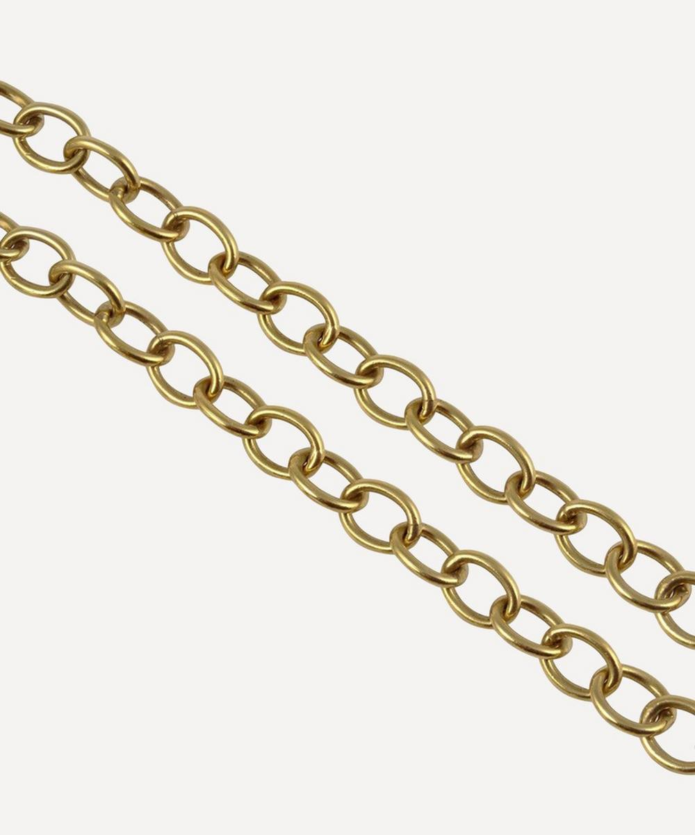 Gold Large Link Chain Necklace
