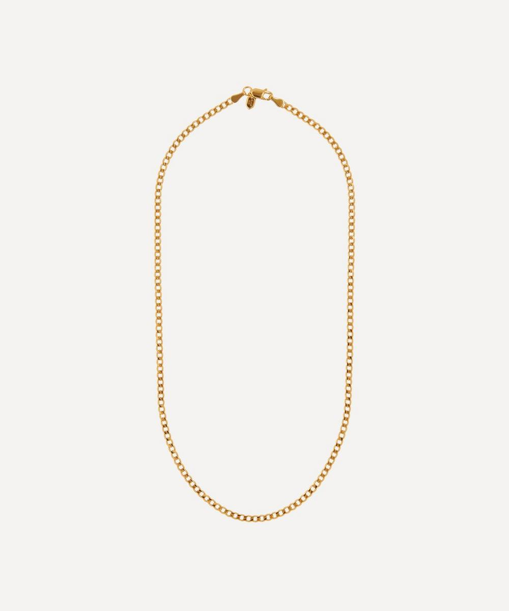 Gold-Plated Saffi Chain Necklace