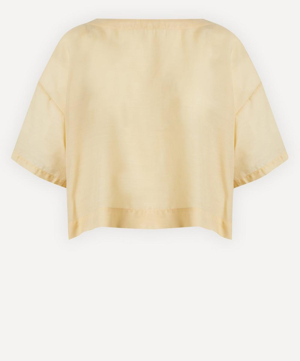 Ruched Back Blouse