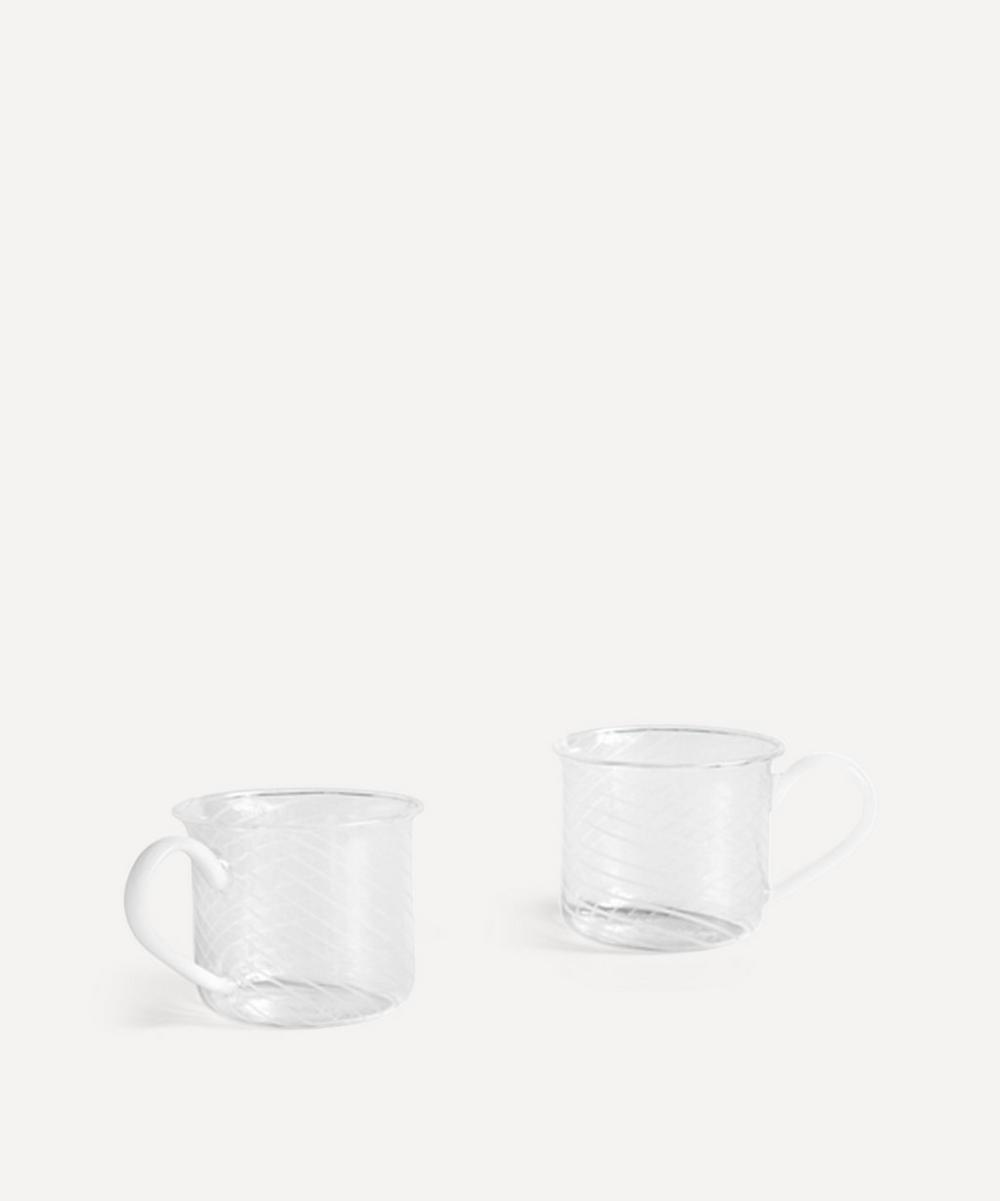 Borosilicate Glass Cups Set of Two