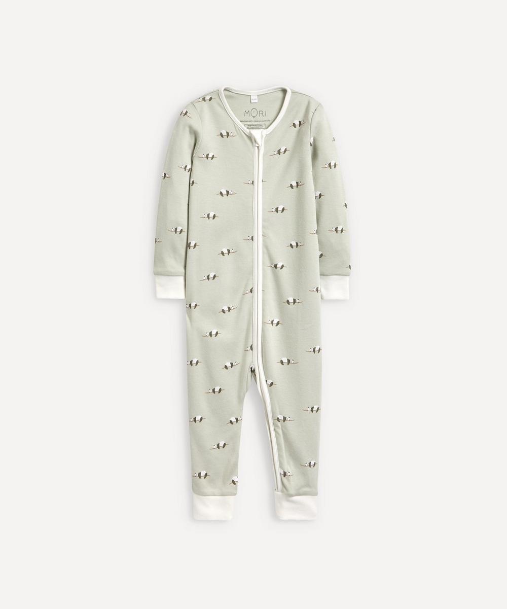 Panda Zip-Up Sleepsuit 0-24 Months