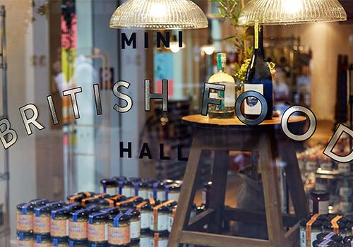 Mini British Food Hall - Meet The Producers