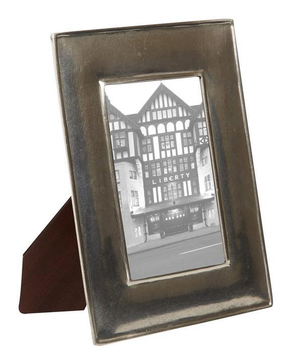 Small Pewter Plain Photo Frame