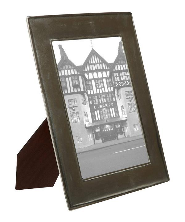 Large Pewter Plain Photo Frame