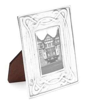 Small Decorative Pewter Photo Frame