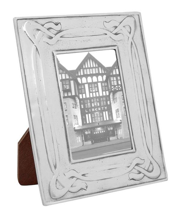 Decorative Pewter Photo Frame