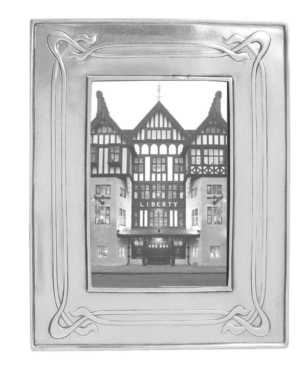 Pewter Decorative Photo Frame