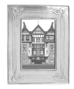 Pewter Decorative Photo Frame