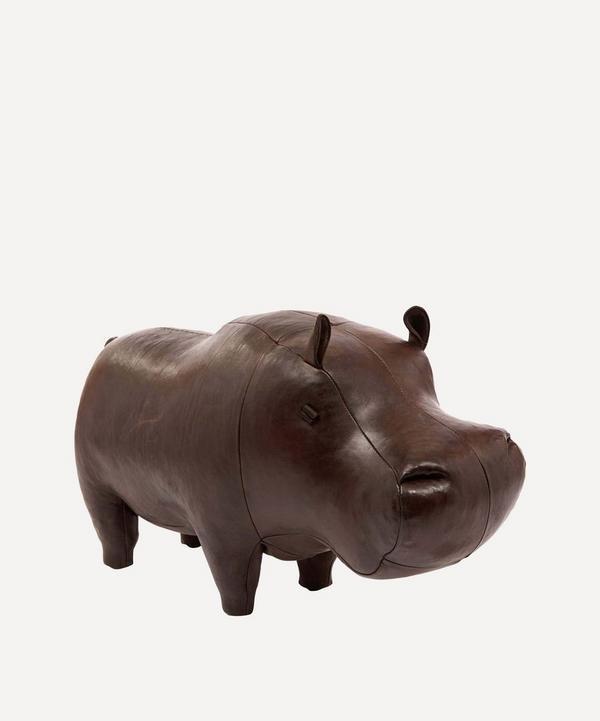 Medium Leather Hippo