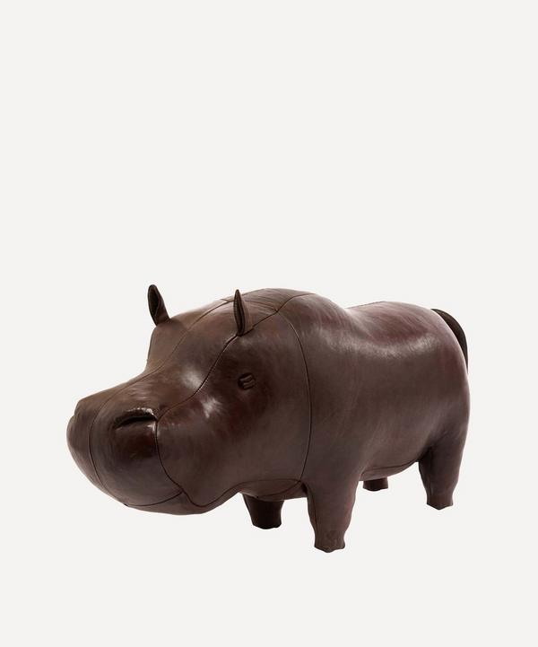 Medium Leather Hippo