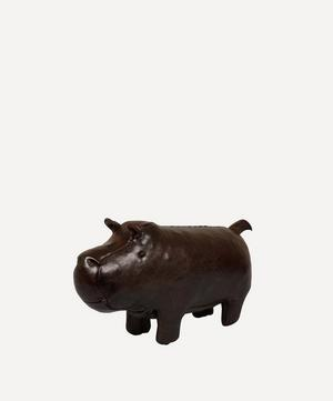 Miniature Leather Hippo