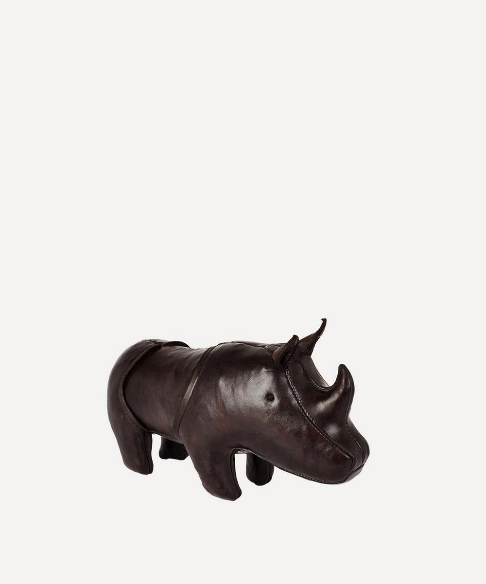 Miniature Leather Rhino