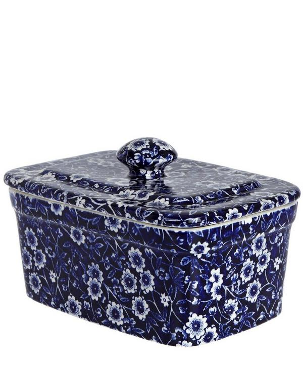 Calico Butter Dish