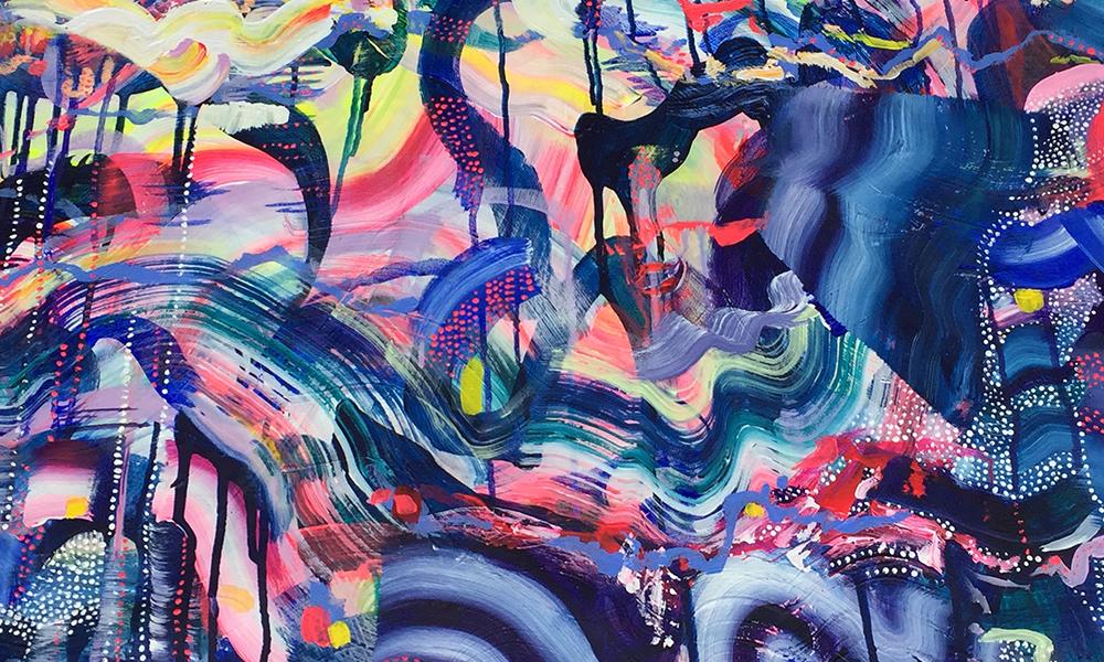 Emma Hill, Painting, Graffiti Summer