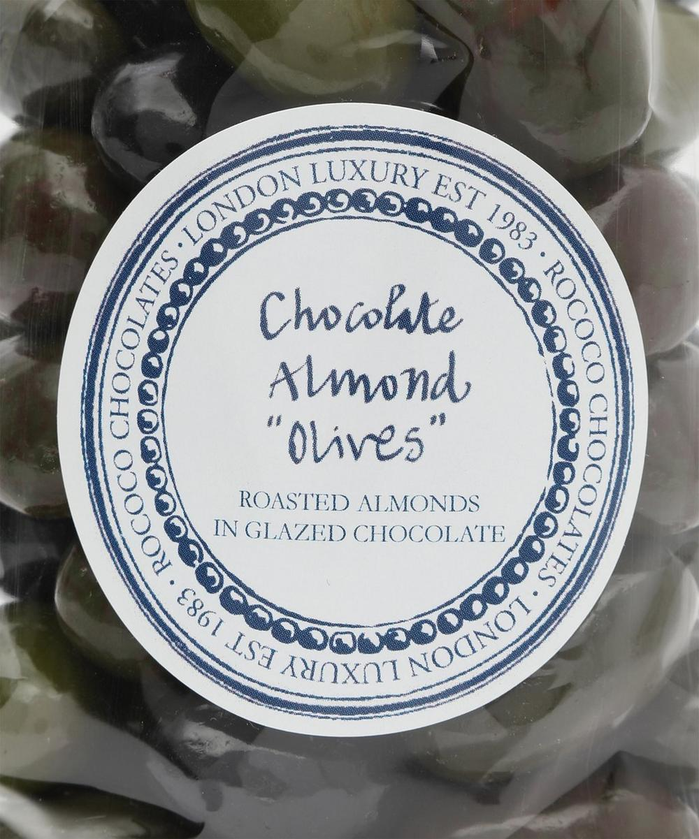 Chocolate Almond Olive Toscanes