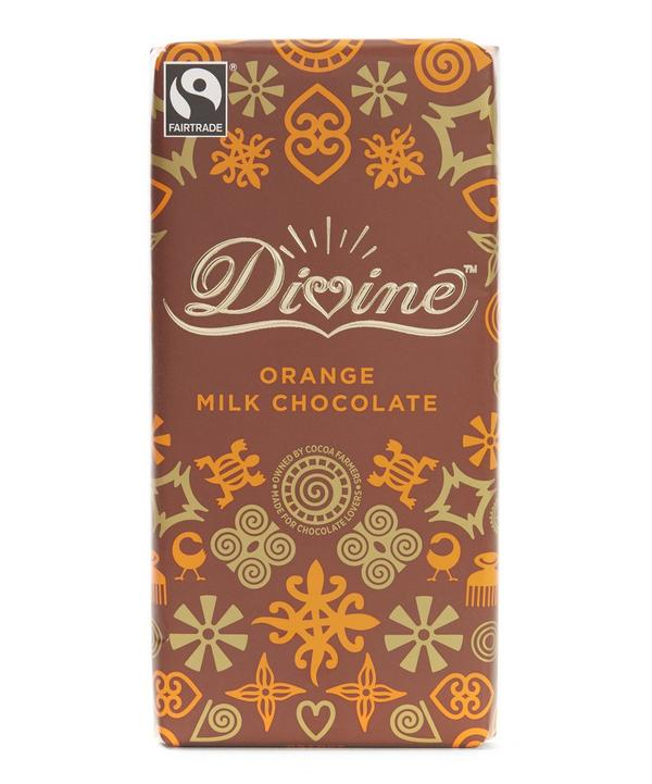 Orange Milk Chocolate Bar
