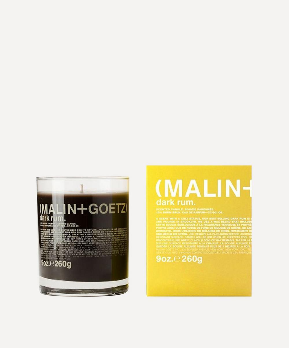 Dark Rum Scented Candle 260g