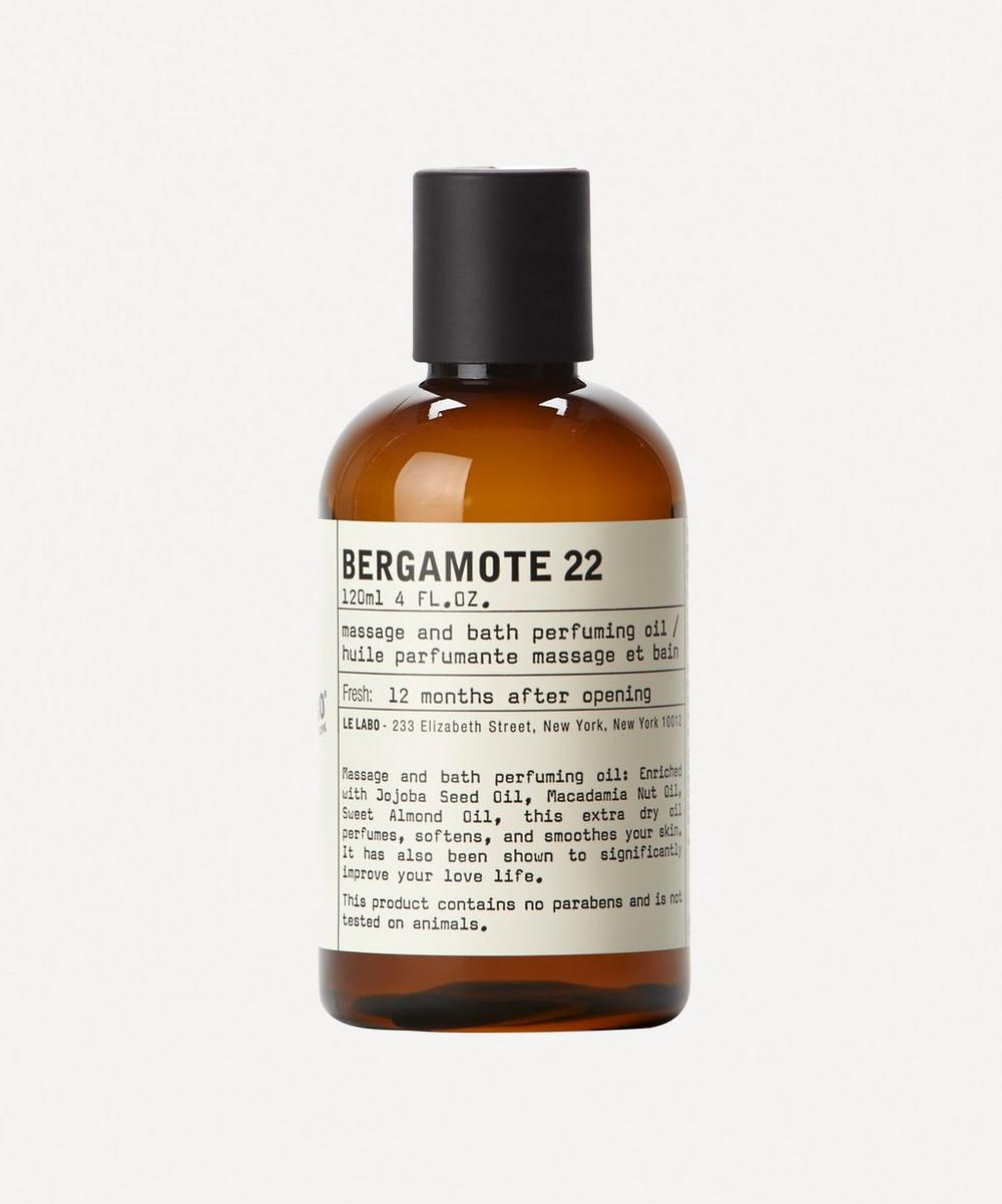 Bergamote 22 Bath and Body Oil 120ml