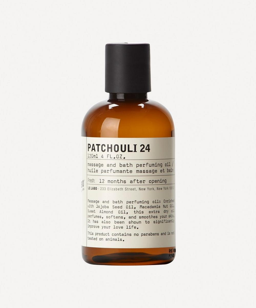 Patchouli 24 Bath and Body Oil 120ml