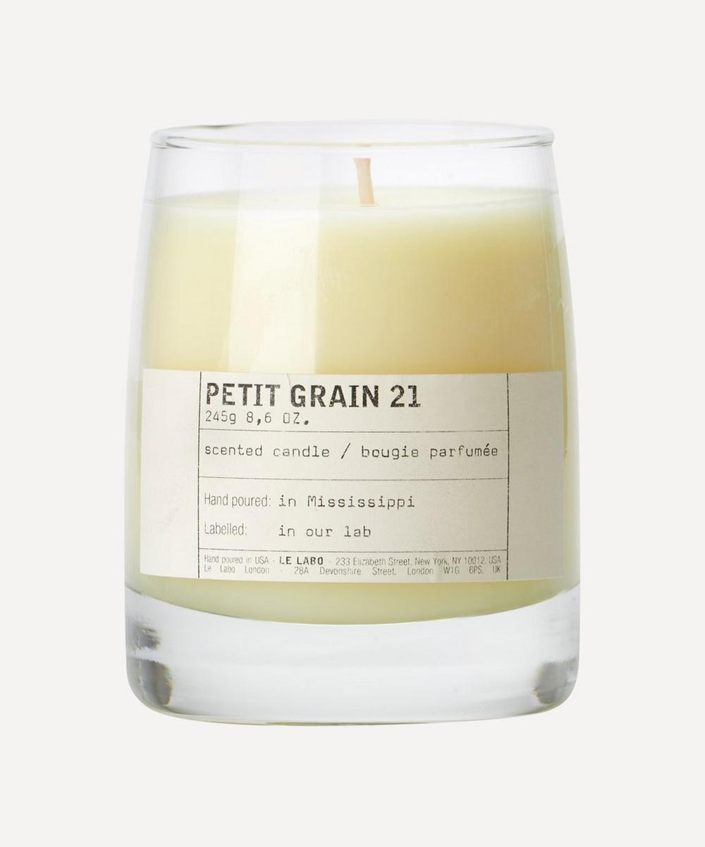 Petit Grain 21 Candle
