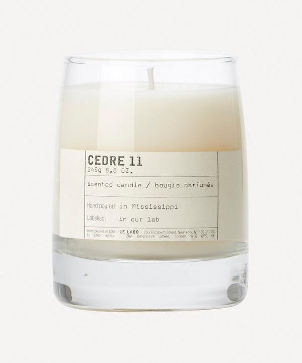 Cedre 11 Candle