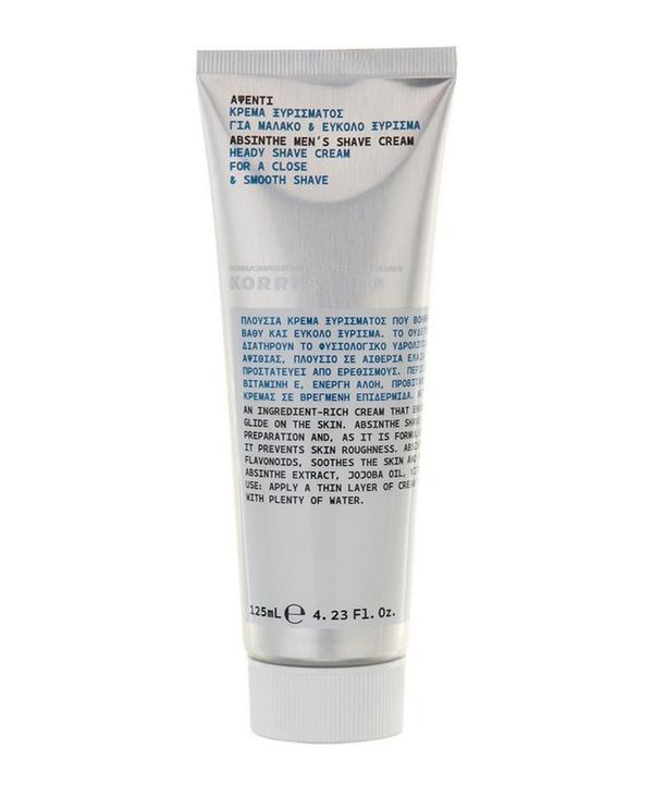 Absinthe Heady Shave Cream 125ml