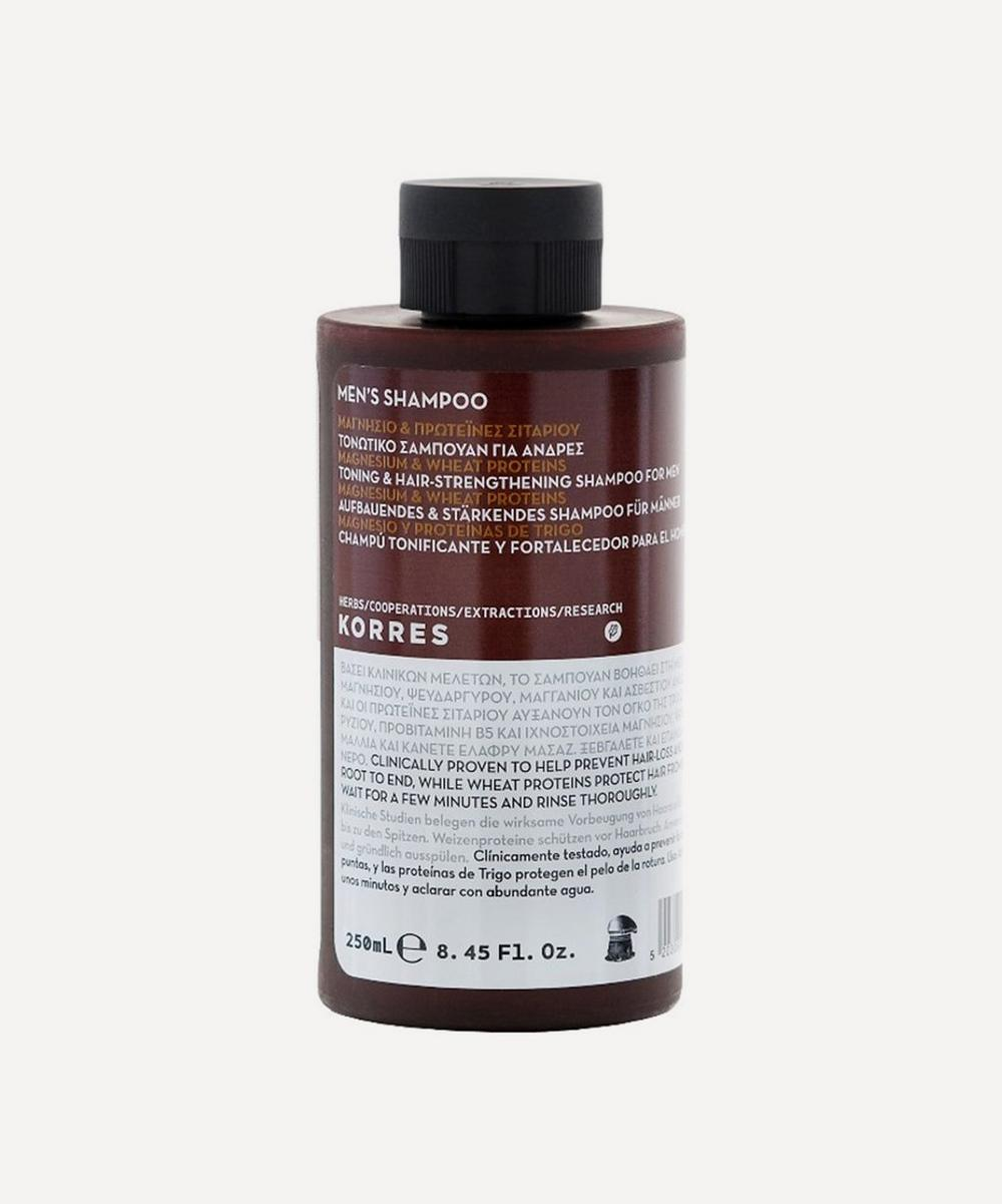 MAGNESIUM AND WHEAT PROTEINS TONING SHAMPOO 200ML