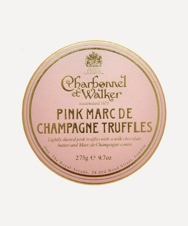 Pink Marc de Champagne Truffles