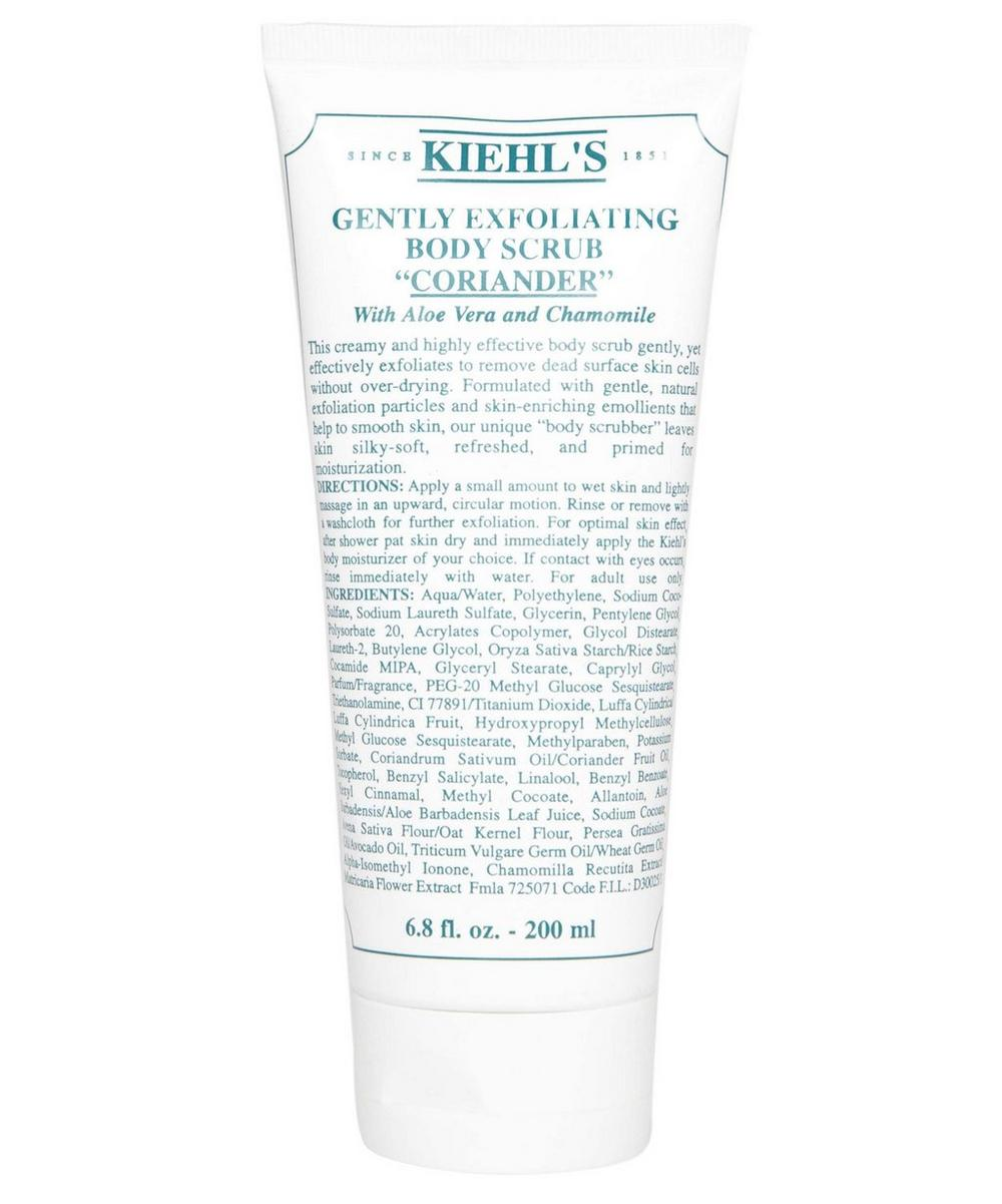 Coriander Gently Exfoliating Body Scrub 200ml