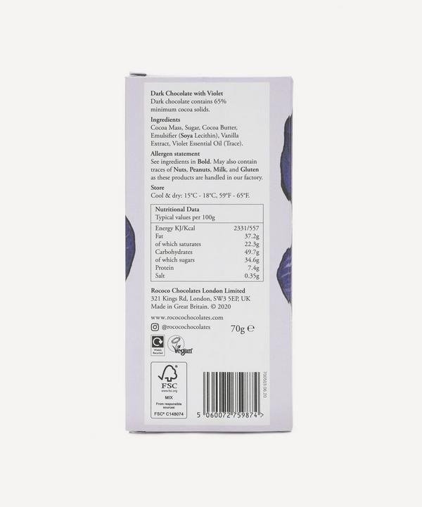 Dark Violet Chocolate Bar