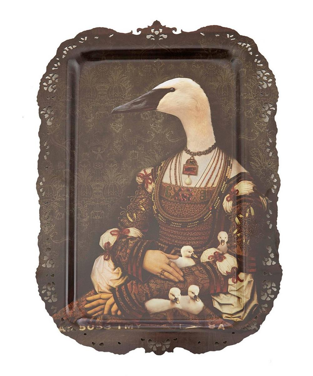 Bianca Goose and Goslings Tray