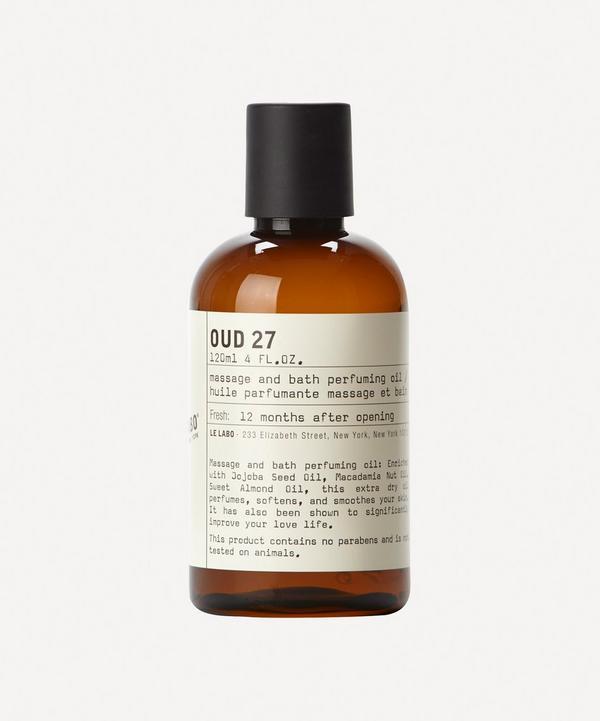 Oud 27 Body Oil 118ml