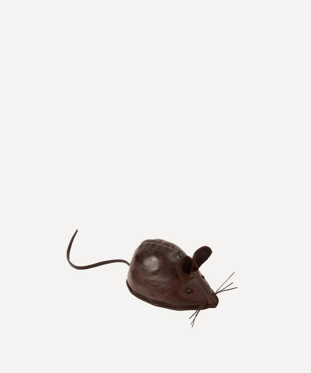 Miniature Leather Mouse