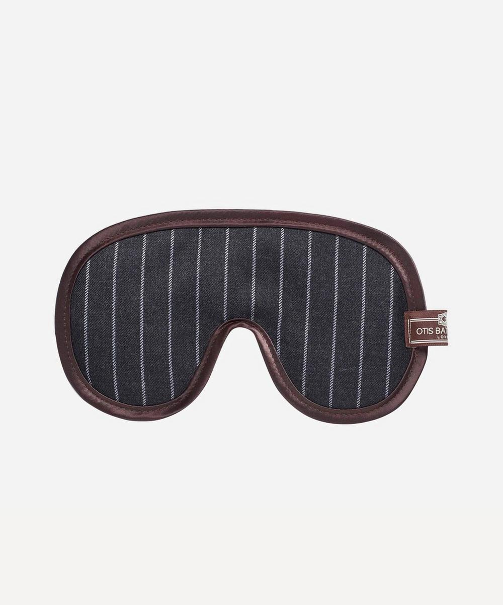 Pinstripe Eye Mask
