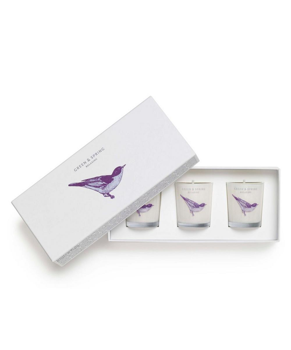 Relaxing Travel Candle Set