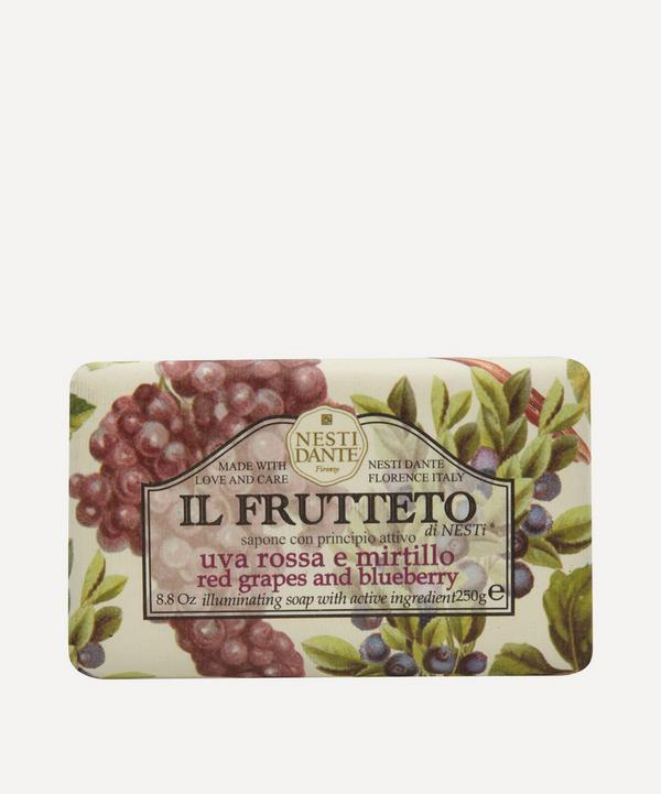 Il Frutteto Red Grapes and Blueberry Soap 250g