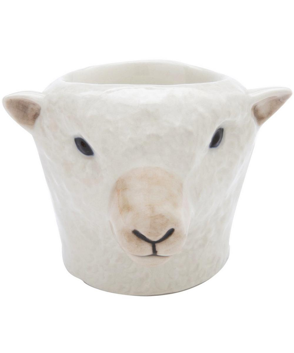 Sheep Southdown Face Egg Cup