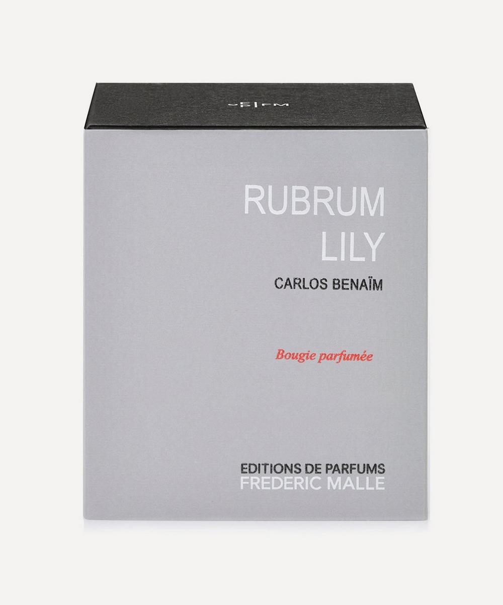 Rubrum Lily Scented Candle