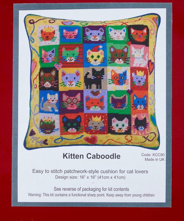 Kitten Caboodle Tapestry Kit