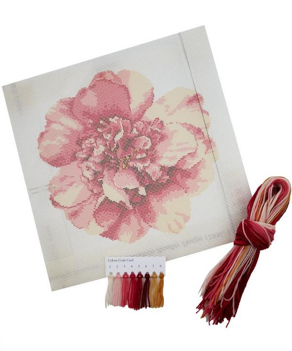 Camellia Blossom Needlepoint Kit