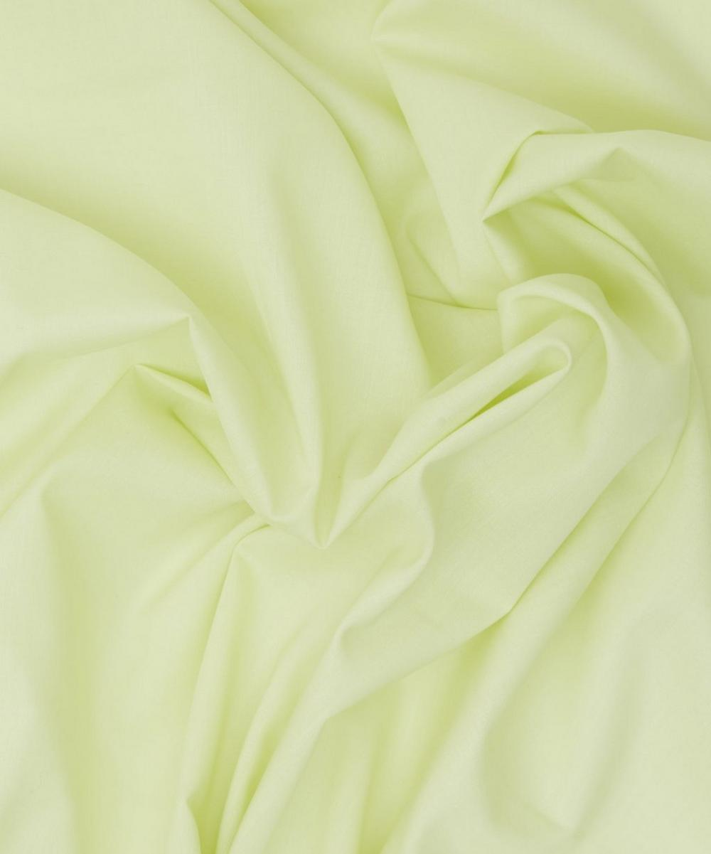 Lime Green Plain Tana Lawn Cotton