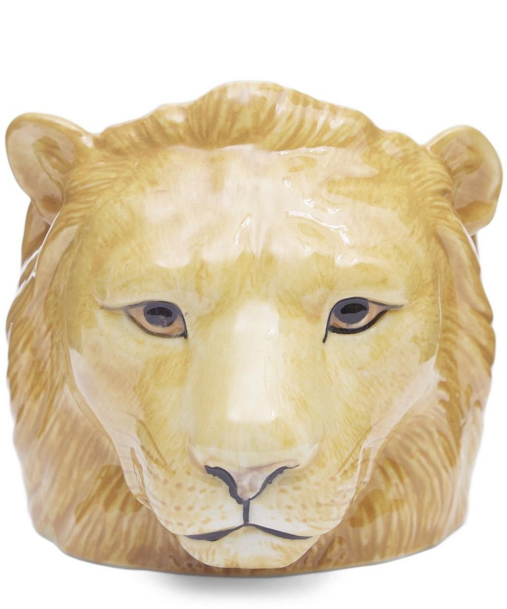 The Lion Face egg cup from Quail is a fun and playful breakfast table addition.