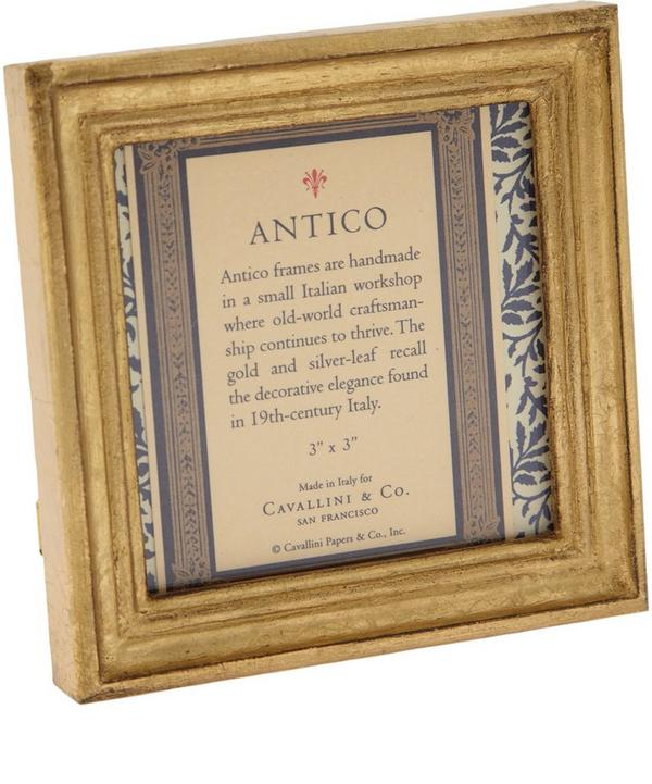 Cavallini & Co Gold Leaf Antico 3 x 3 Frame