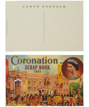 Glittered Vintage London Postcards Selection