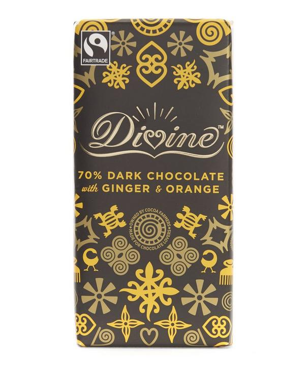 70% Dark Chocolate and Ginger Bar