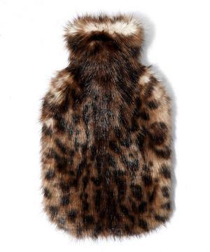 Ocelot Faux Fur Hot Water Bottle