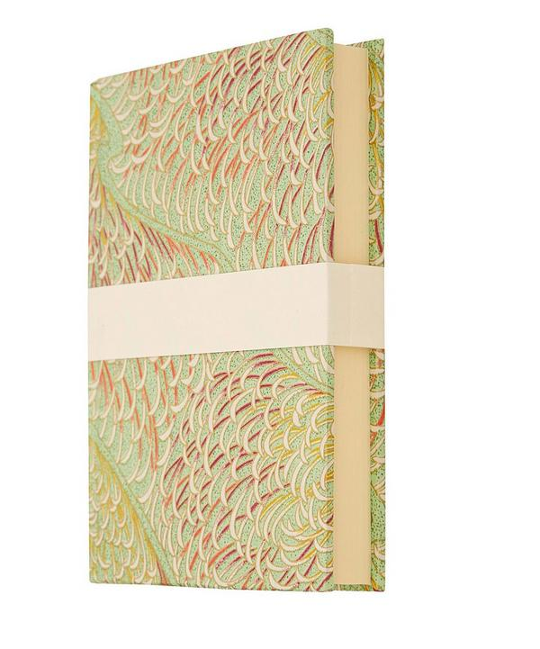 Small Chrysanthemum Silk Screen Notebook