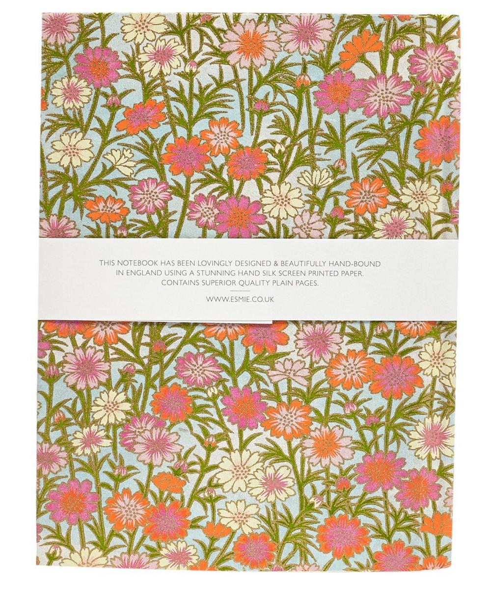 Small Daisies Silk Screen Notebook