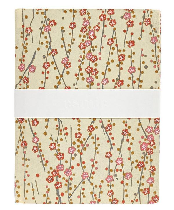 Small Buds Silk Screen Notebook